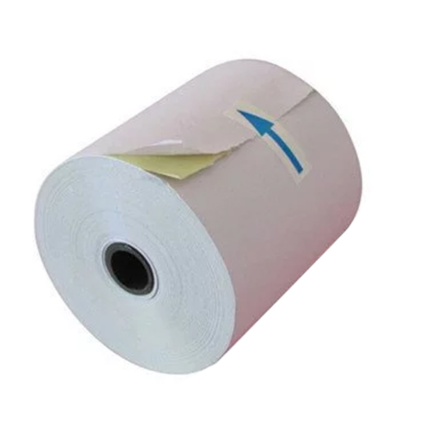 76mm x 70mm 2ply Carbonless paper roll