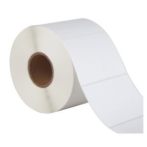 80mm x 60mm Self Adhesive Direct Thermal Blank Labels -1000/Roll