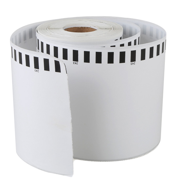 Compatible Brother thermal paper label