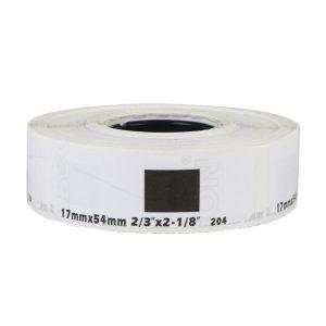 17mm x 87mm – Direct Thermal Labels Sticker DK-11204, DK-1204, DK-204 For Brother QL Label Printer