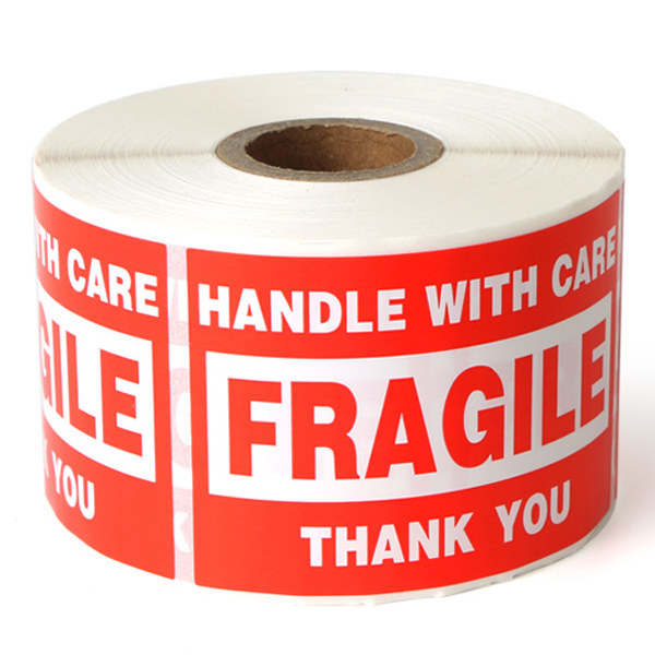 Handle With Care Fragile Stickers