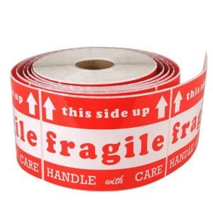 This Way Up Handle With Care Fragile Warning Labels For Shipping