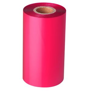 90mm x 300m – 12mm Core Pink Blank Thermal Transfer Barcode Color Ribbon