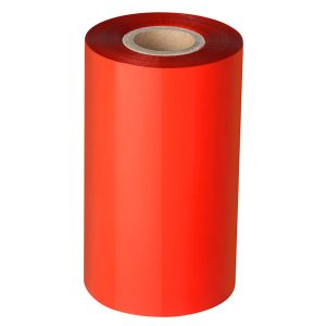 Thermal Transfer Red Wax Barcode Ribbon
