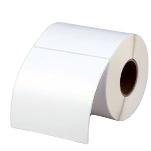 100mm x 100mm – Blank Thermal Paper Adhesive Thermal Transfer Labels Roll 500pcs