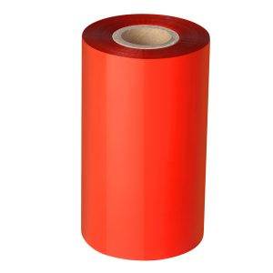 60mm x 300m – 25mm Core Red Blank Thermal Transfer Barcode Color Ribbon