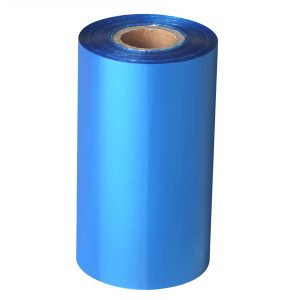 70mm x 300m – 25mm Core Blank SKy Blue Wax Thermal Transfer Barcode Color Ribbon
