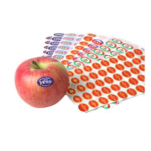 Self Adhesive Waterproof  Assorted Fruit Vegetables Label Stickers